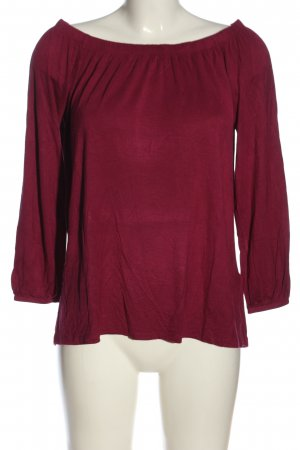 Hollister Carmen-Bluse pink Casual-Look