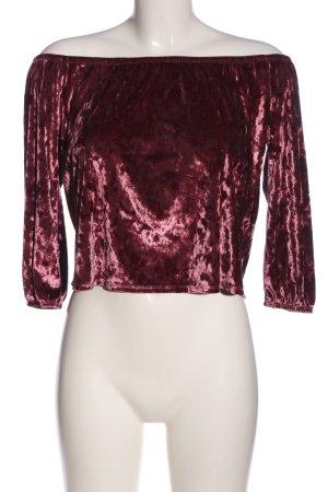 Hollister Blusa alla Carmen rosa stile casual