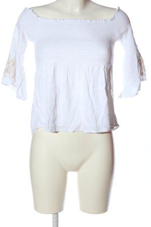 Hollister Carmen Shirt white casual look