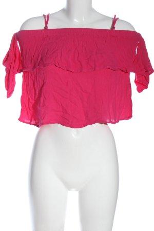 Hollister Carmen Shirt pink casual look
