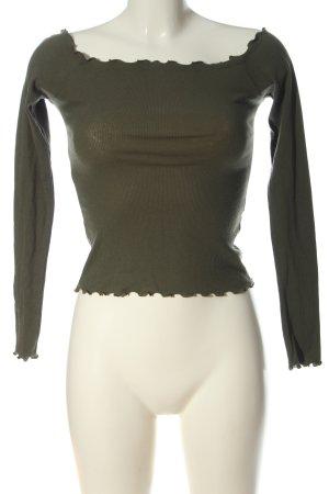 Hollister Carmenshirt khaki Casual-Look