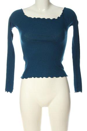 Hollister Koszula typu carmen niebieski W stylu casual