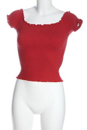 Hollister Carmen shirt rood casual uitstraling