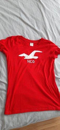 Hollister Basic topje rood