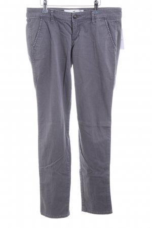 Hollister Chinohose hellgrau Casual-Look