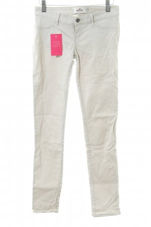Hollister Chinohose hellbeige Casual-Look