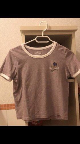 Hollister Crop T-Shirt rosa