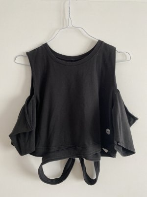 Hollister Cropped top zwart