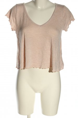 Hollister Cropped Shirt creme meliert Casual-Look