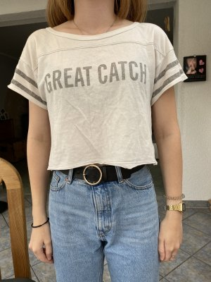 Hollister cropped shirt