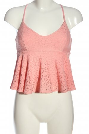 Hollister Cropped Top pink Casual-Look