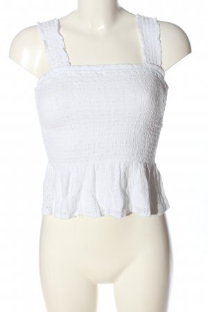 Hollister Cropped top wit casual uitstraling