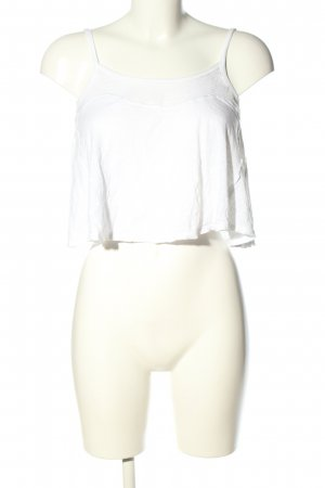 Hollister Cropped Top white casual look
