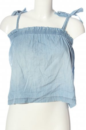 Hollister Cropped Top blau Casual-Look