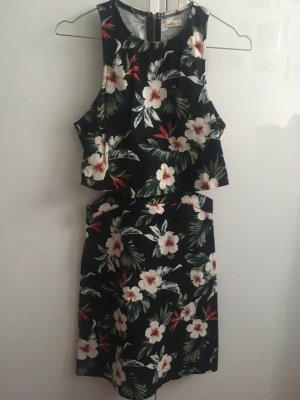 Hollister Cut Out Dress multicolored