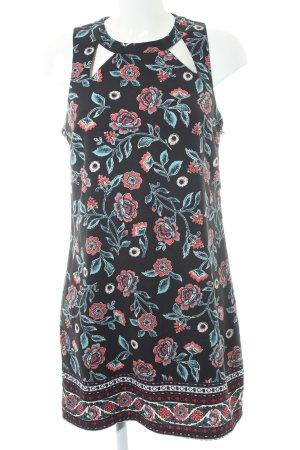 Hollister Cut-Out-Kleid Blumenmuster Elegant