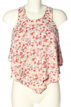 Hollister Top cut out estampado floral look casual