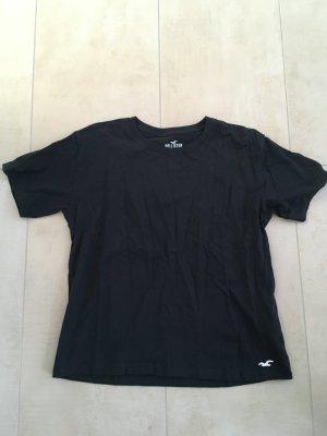 Hollister Damen Classic T-Shirt Größe M schwarz