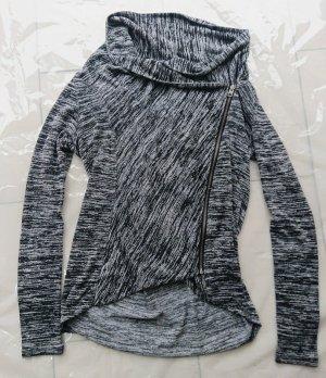 Hollister Veste chemise noir-argenté