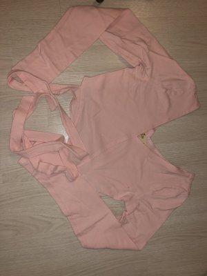 Hollister Maglia con scollo a V rosa chiaro