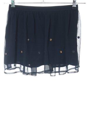 Hollister Jupe à plis bleu élégant