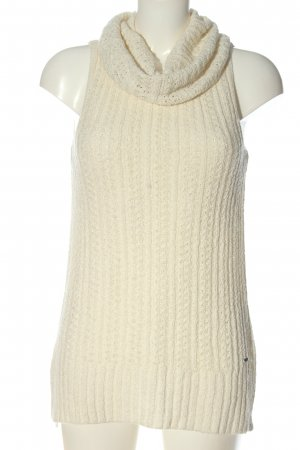 Hollister Fine Knitted Cardigan natural white casual look