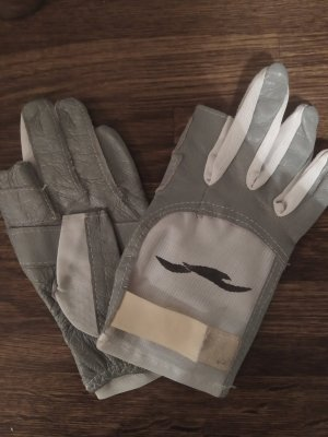 Hollister Guanto con dita bianco-grigio