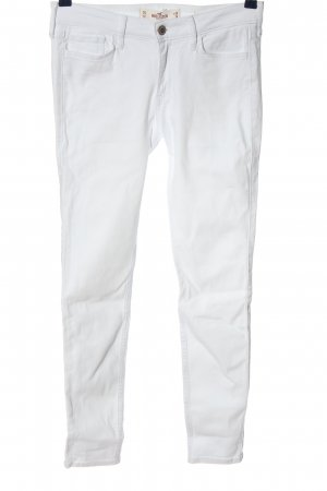 Hollister Five-Pocket-Hose weiß Casual-Look