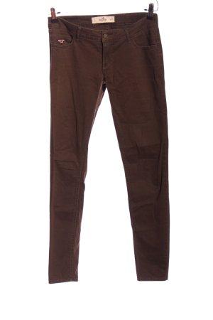 Hollister Five-Pocket-Hose braun Casual-Look
