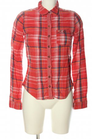 Hollister Camisa de franela estampado a cuadros look casual