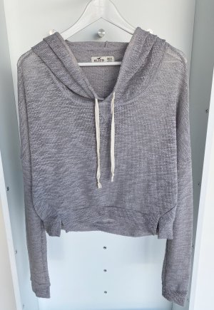 Hollister - Grauer Pullover mit Kapuze