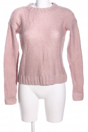 Hollister Grobstrickpullover pink Casual-Look