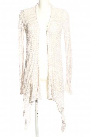Hollister Cardigan all'uncinetto bianco sporco stile casual