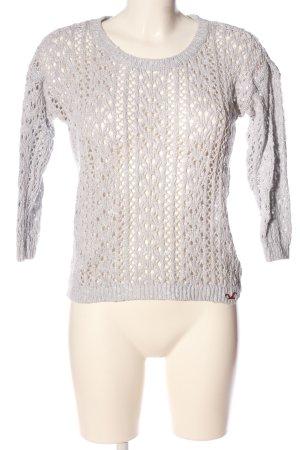 Hollister Pullover all'uncinetto turchese modello web stile casual