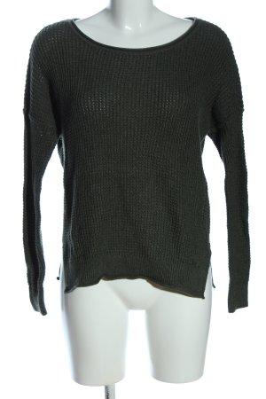 Hollister Gehaakte trui khaki casual uitstraling