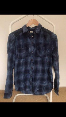Hollister Camisa de franela azul aciano-azul celeste