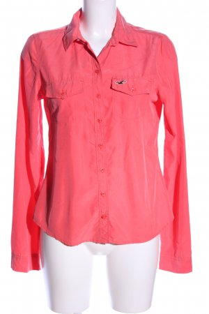 Hollister Hemd-Bluse rot Casual-Look