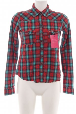 Hollister Hemd-Bluse Allover-Druck Casual-Look
