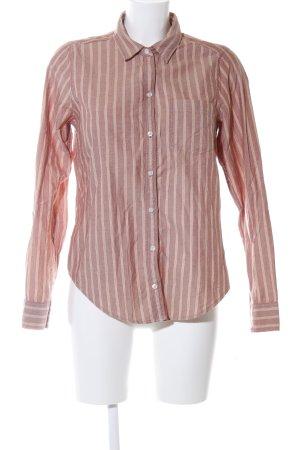 Hollister Hemd-Bluse bronzefarben Streifenmuster Casual-Look