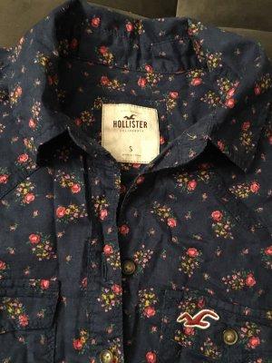 Hollister-Hemdbluse mit Blumenmuster