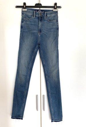 Hollister Jeans taille haute multicolore