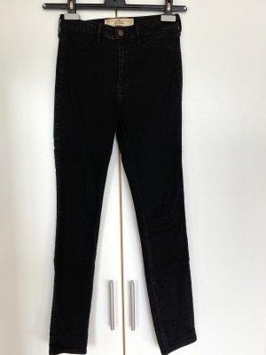 Hollister Jeans taille haute noir