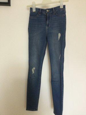 Hollister High Waist Jeans steel blue