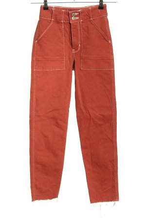 Hollister High Waist Jeans red casual look