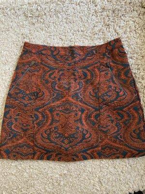 Hollister High Waist Skirt multicolored polyester