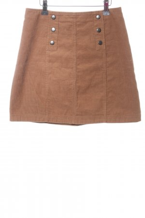 Hollister High Waist Rock braun Casual-Look