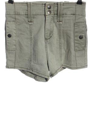Hollister High-Waist-Shorts hellgrau Casual-Look
