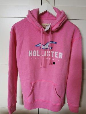 Hollister Hoddie mit Logografik und Batiklook Gr. S 36-38 NEU