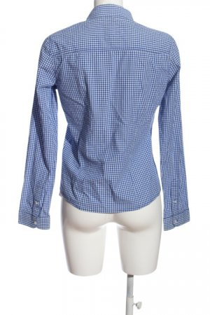 Hollister Koszula w kratę niebieski-biały Na całej powierzchni W stylu casual