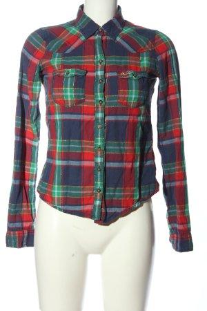 Hollister Camicia da boscaiolo motivo a quadri stile casual